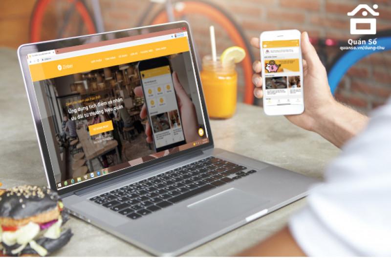 Ứng dụng tích điểm và nhận ưu đãi từ thương hiệu quán - giải pháp chăm sóc khách hàng toàn diện dành cho thương hiệu nhà hàng, cafe,...