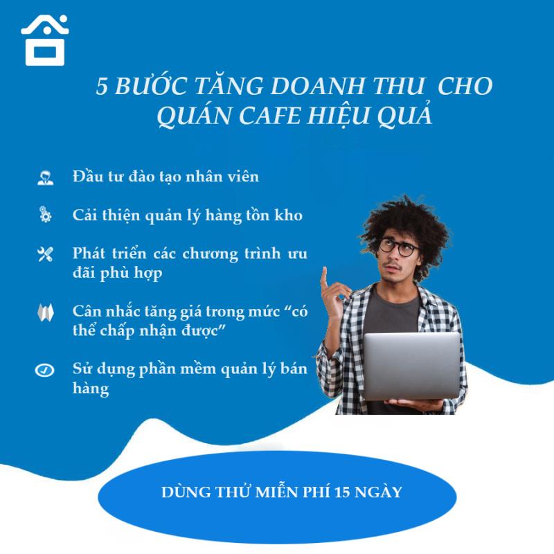 5 BƯỚC TĂNG DOANH THU CHO QUÁN CAFE HIỆU QUẢ