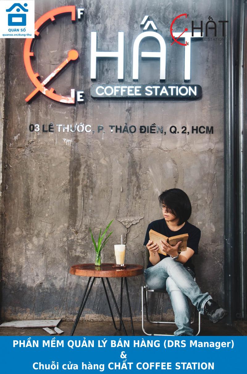 """Đi tìm """"bình yên"""" giữa trung tâm Sài Gòn thì ghéngang qua Chuỗi cửa hàng CHẤT COFFEE STATION"""