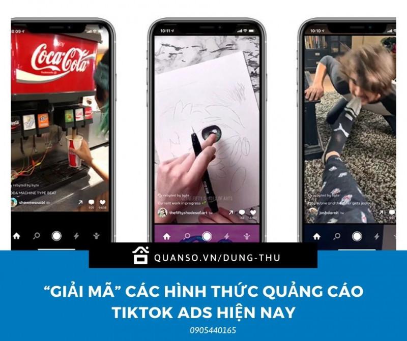 """""""Giải mã"""" các hình thức quảng cáo tiktok ads hiện nay"""