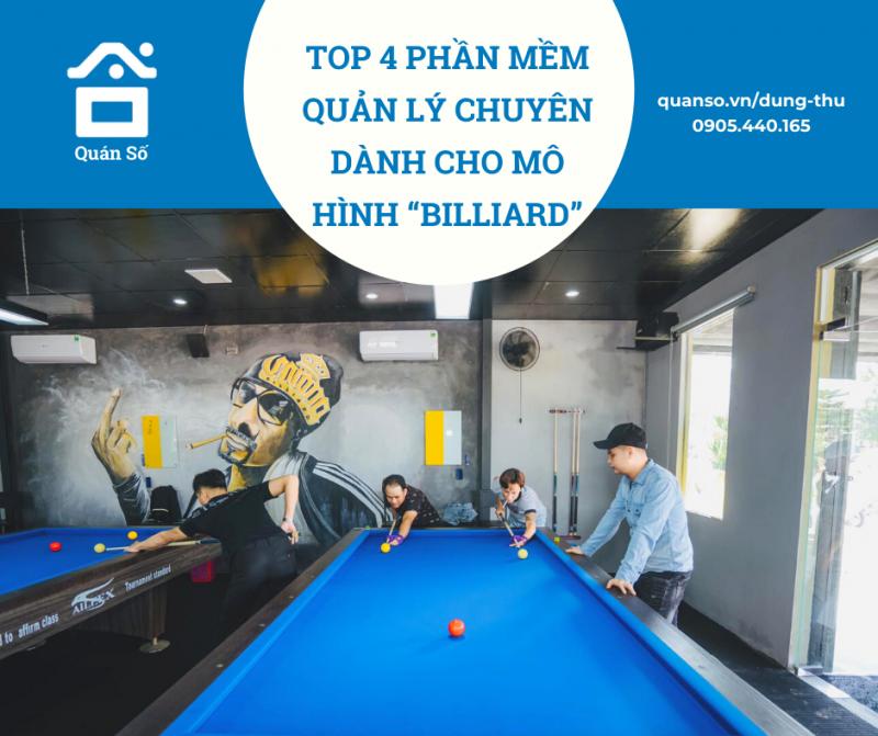 """Top 4 phần mềm chuyên dành cho mô hình """"billiard"""""""
